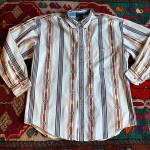 Men's Ralph Lauren vintage Aztec button up